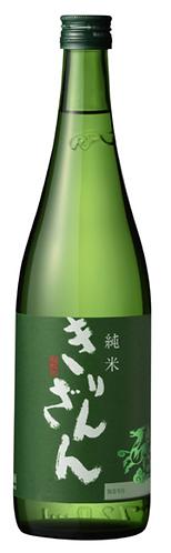 麒麟山 純米  Green Bottle グリーンボトル 720ml