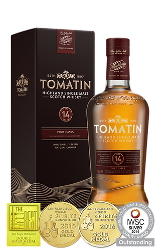 Tomatin 14 Years Single Malt Whisky 70cl 46%abv