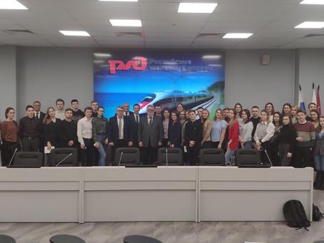 На пути развития профессионального логистического сообщества РЖД и СПбГЭУ