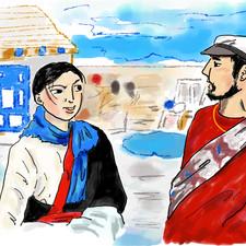 チベット映画「羊飼いと風船」より
