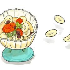 クリームチーズ白玉