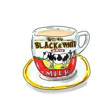 香港のミルクカップ