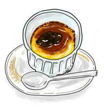 カフェ・ド・ランブルのプリン