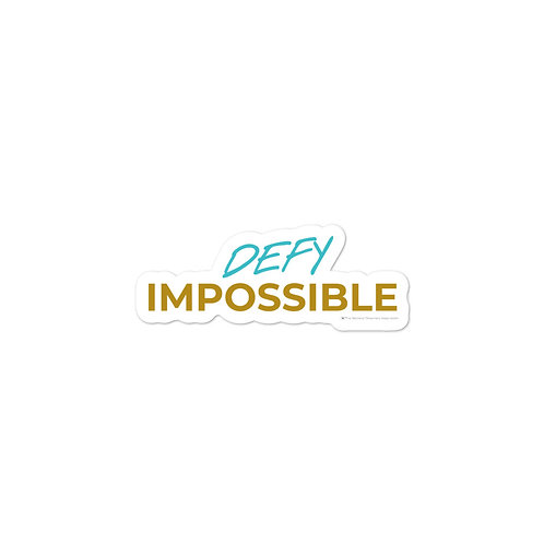 Defy Impossible Stickers (2019-2020)