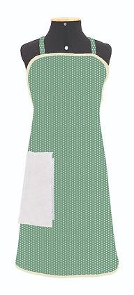 004LM- Avental tricoline com plástico
