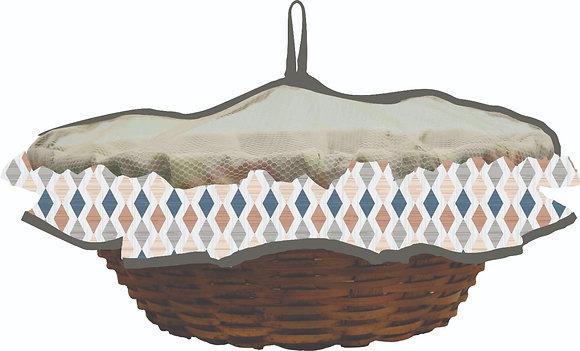 030AT- Cesta de pão redonda