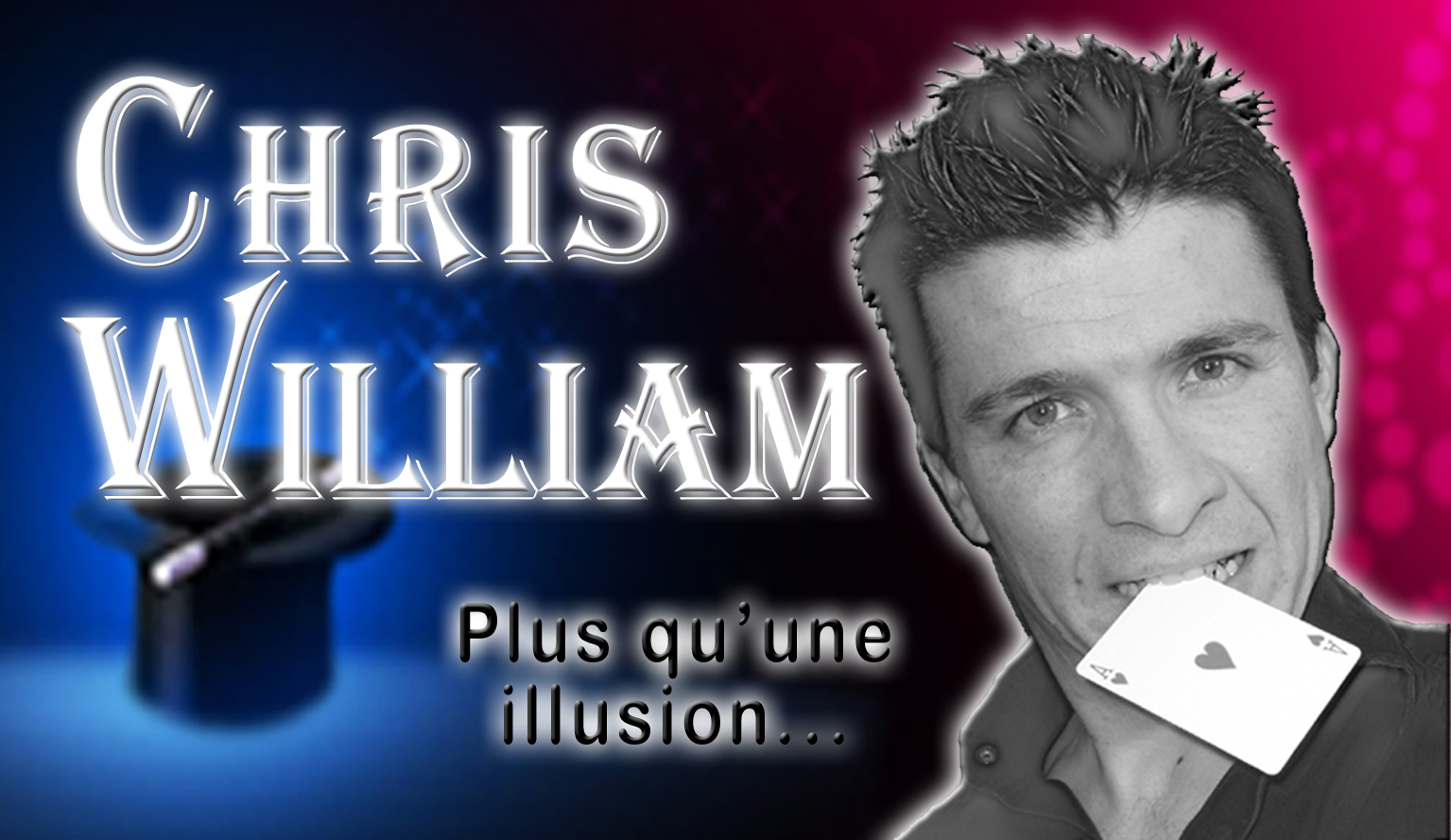 Carte Postale ChrisWilliam sans contact