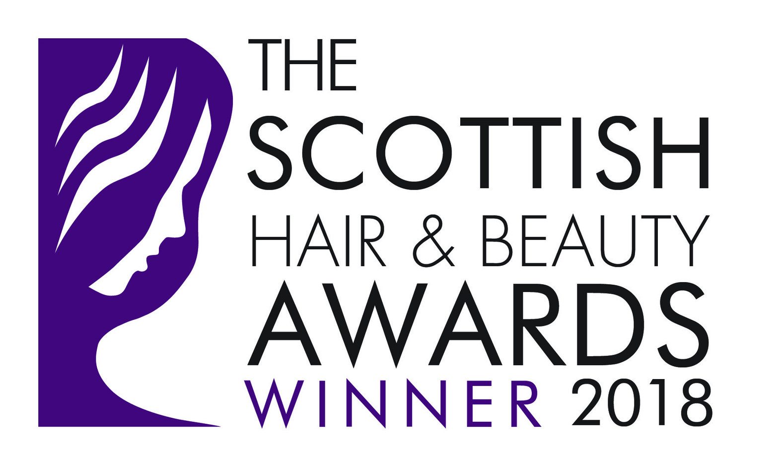 Winner Logo _ Scottish Hair & Beauty Awa