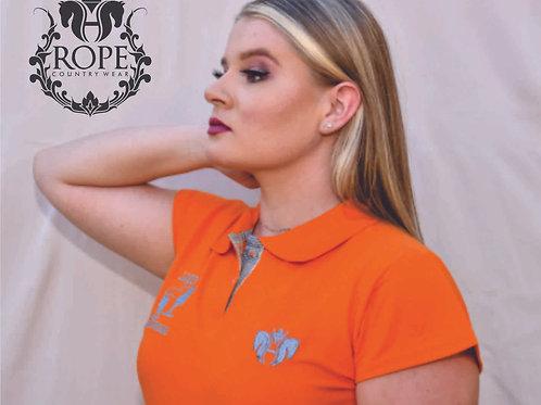 Camisa Polo Feminina - Esporte Equestre