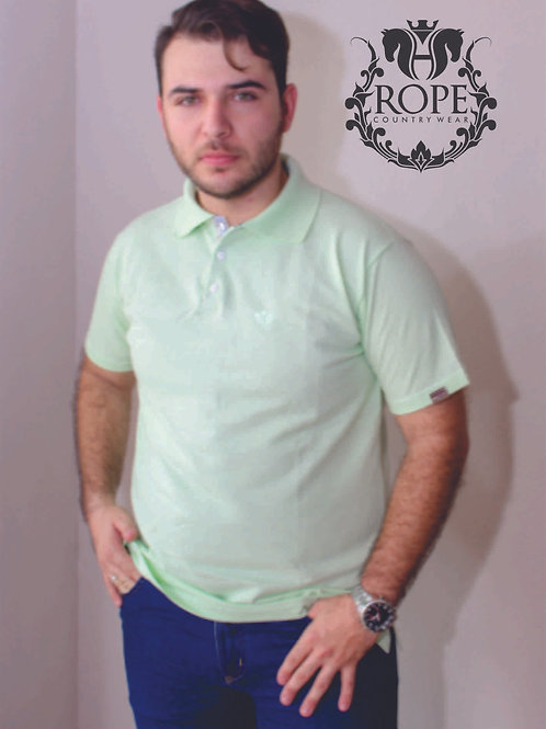 Camisa Polo Verde Bebe