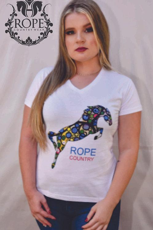 Camiseta Cavalo Color