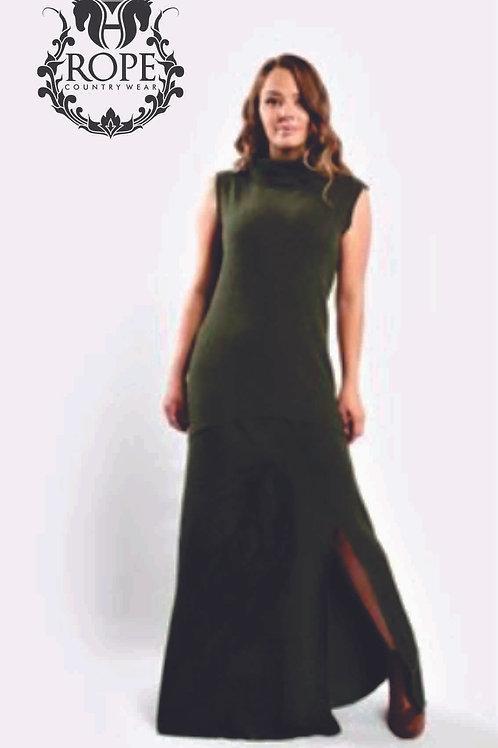 Vestido Major Verde Escaramuça