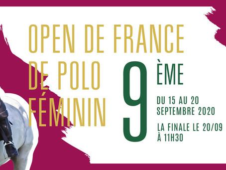 Open de France de polo : Au tour des femmes !