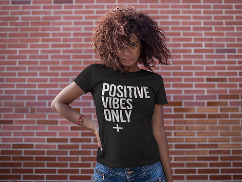 Positive Vibes Only Tee (Black)