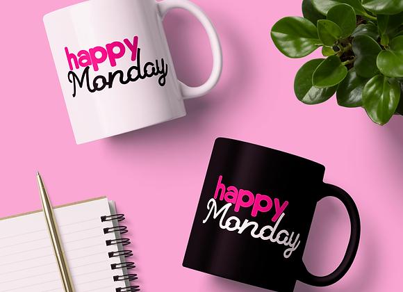 Happy Monday Mug
