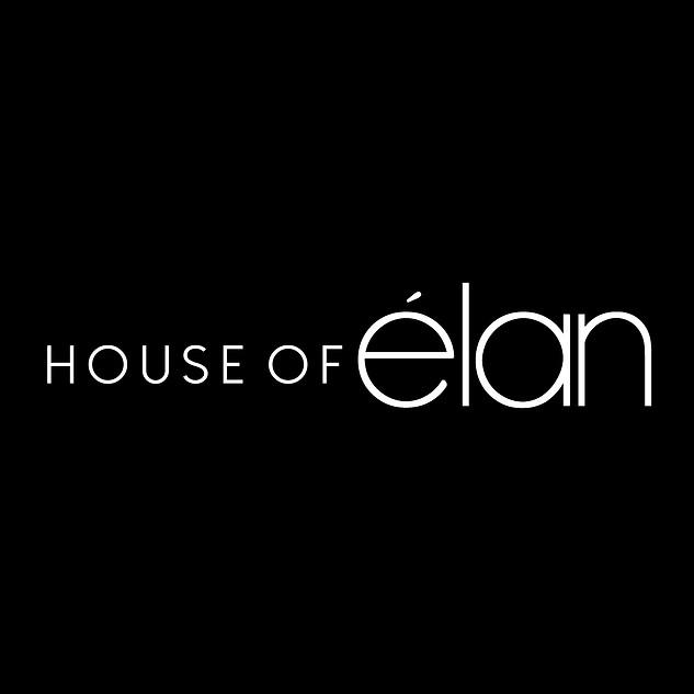 Official House of Elan Logo (White) Larg
