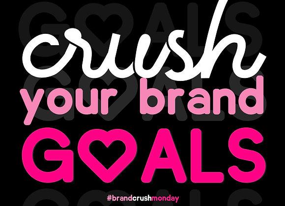 Brand Crush Brand Identity Kit + Logo Design