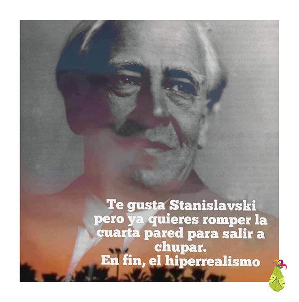 Te gusta Stanislavski pero ya quieres ro