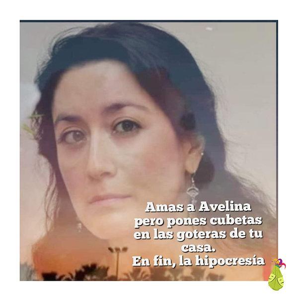 amas a Avelina pero pones cubetas en las