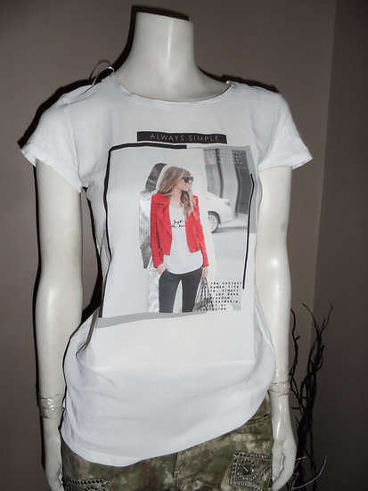 Tee Shirt Miss Captain T0