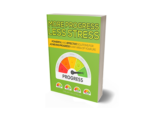 SALE ITEM 5: More Progress, Less Stress [eBook]