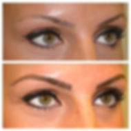 Maquillage semi-permanent - sourcil - exemple