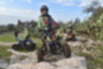 Electric ATV TR240 Dirt Quad