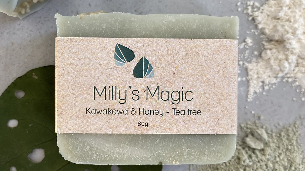 Kawakawa & Tea tree Soap