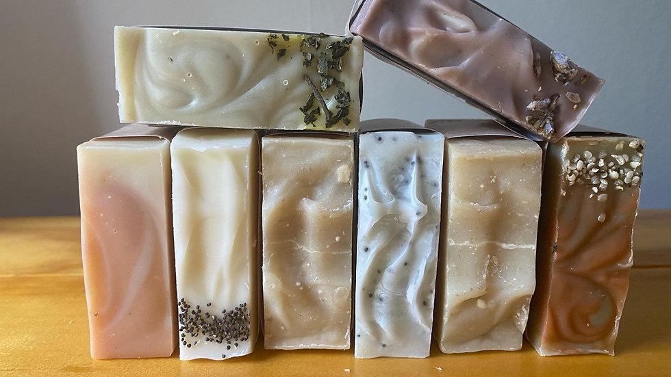 Waste free soap bars
