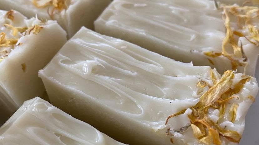Ylang ylang & Bergamot Calendula Soap