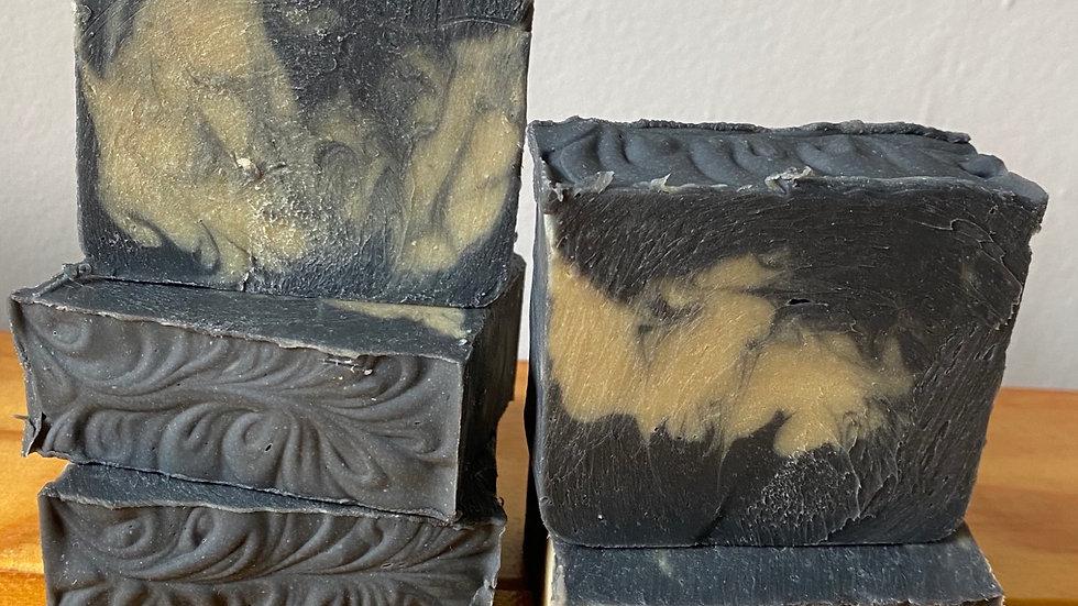 Lemon Eucalyptus & Cedarwood Charcoal Soap