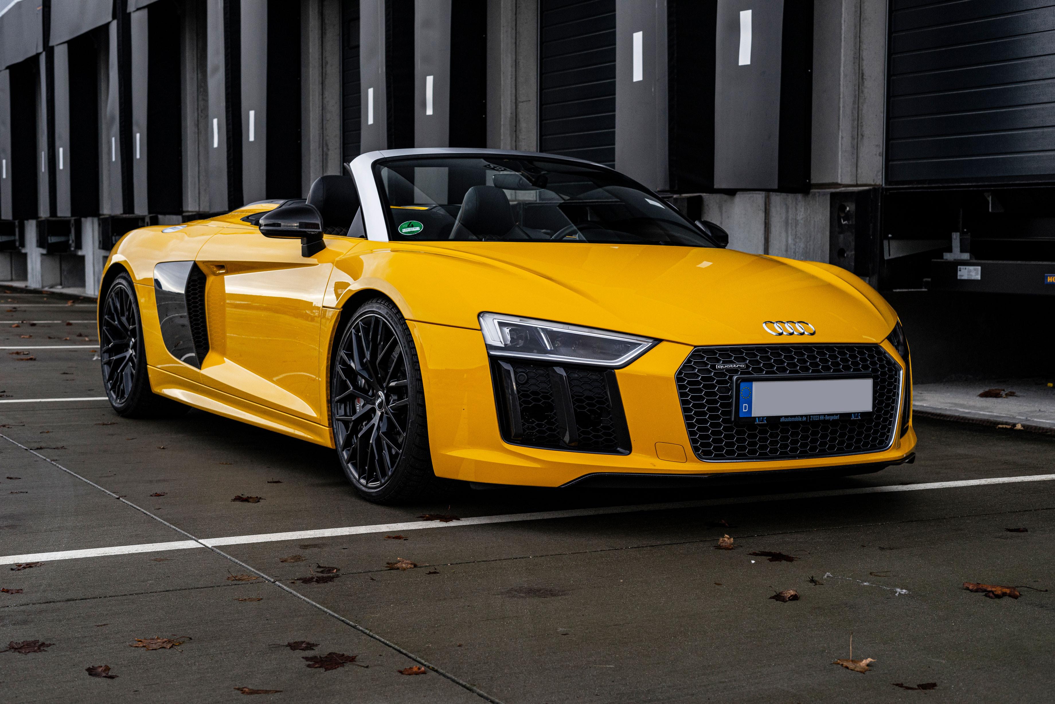 Audi R8 v10 Spyder 30 Minuten