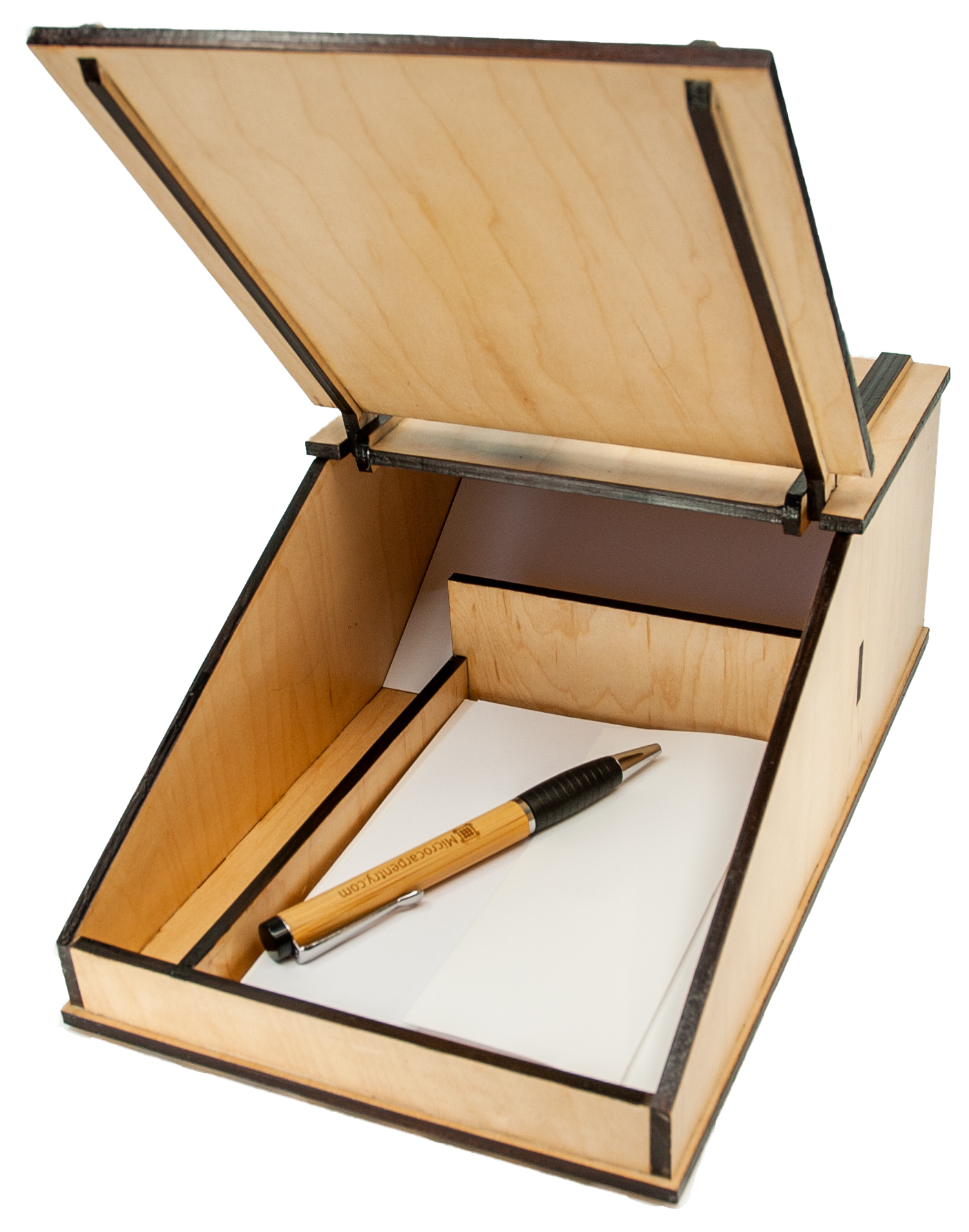 Writer's Box with Pen and Cards