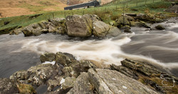 Elan Valley Dam Slow River