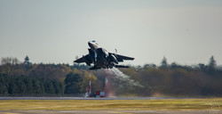 F15 Lakenheath Take Off.