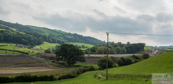 Newtown bypass from Trewoen