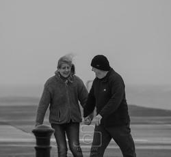 Windy Day At Aberystwyth