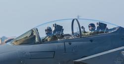 F15 Lakenheath. Cockpit Shot