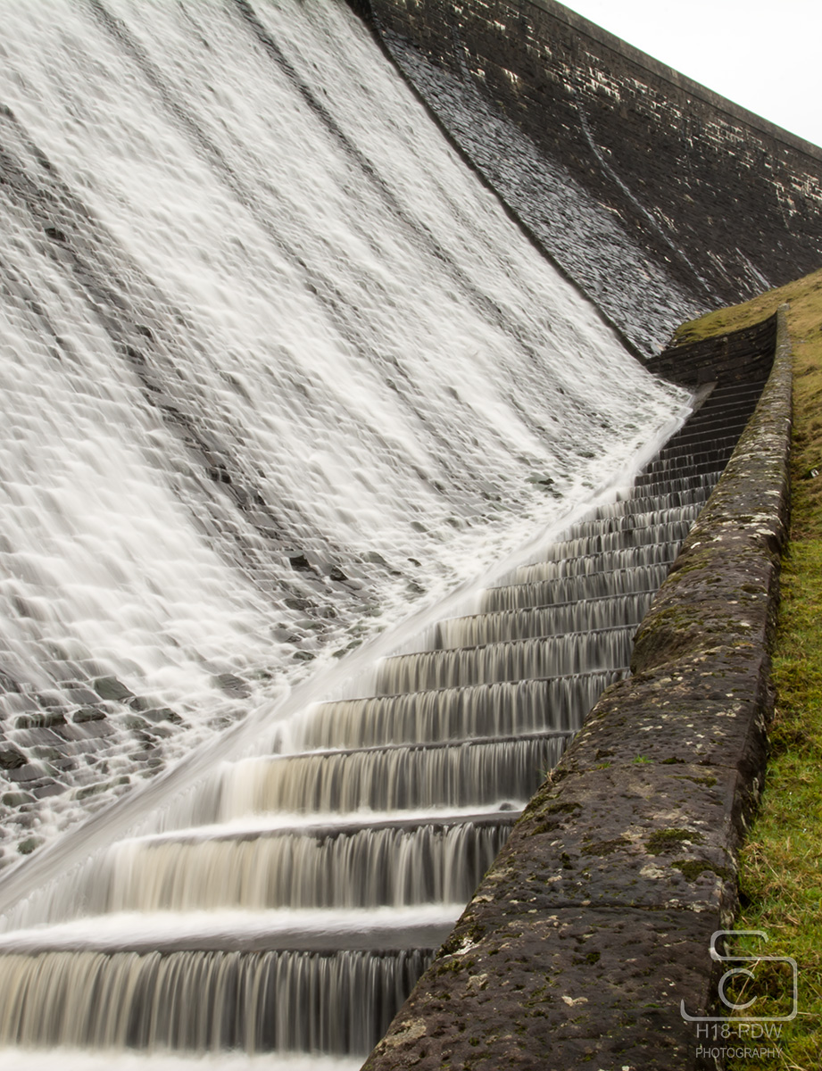 Elan Valley Dam Slow Water