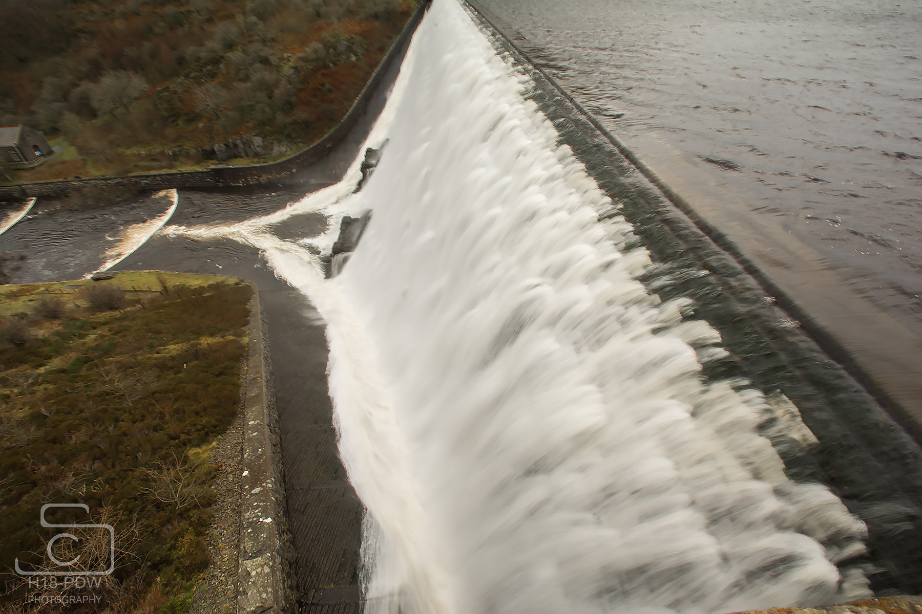 Elan Valley Dam Wall