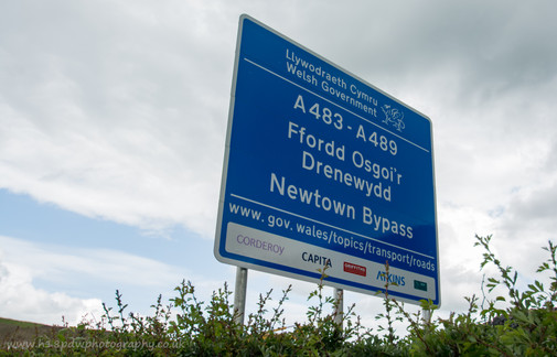 Newtown Bypass sign