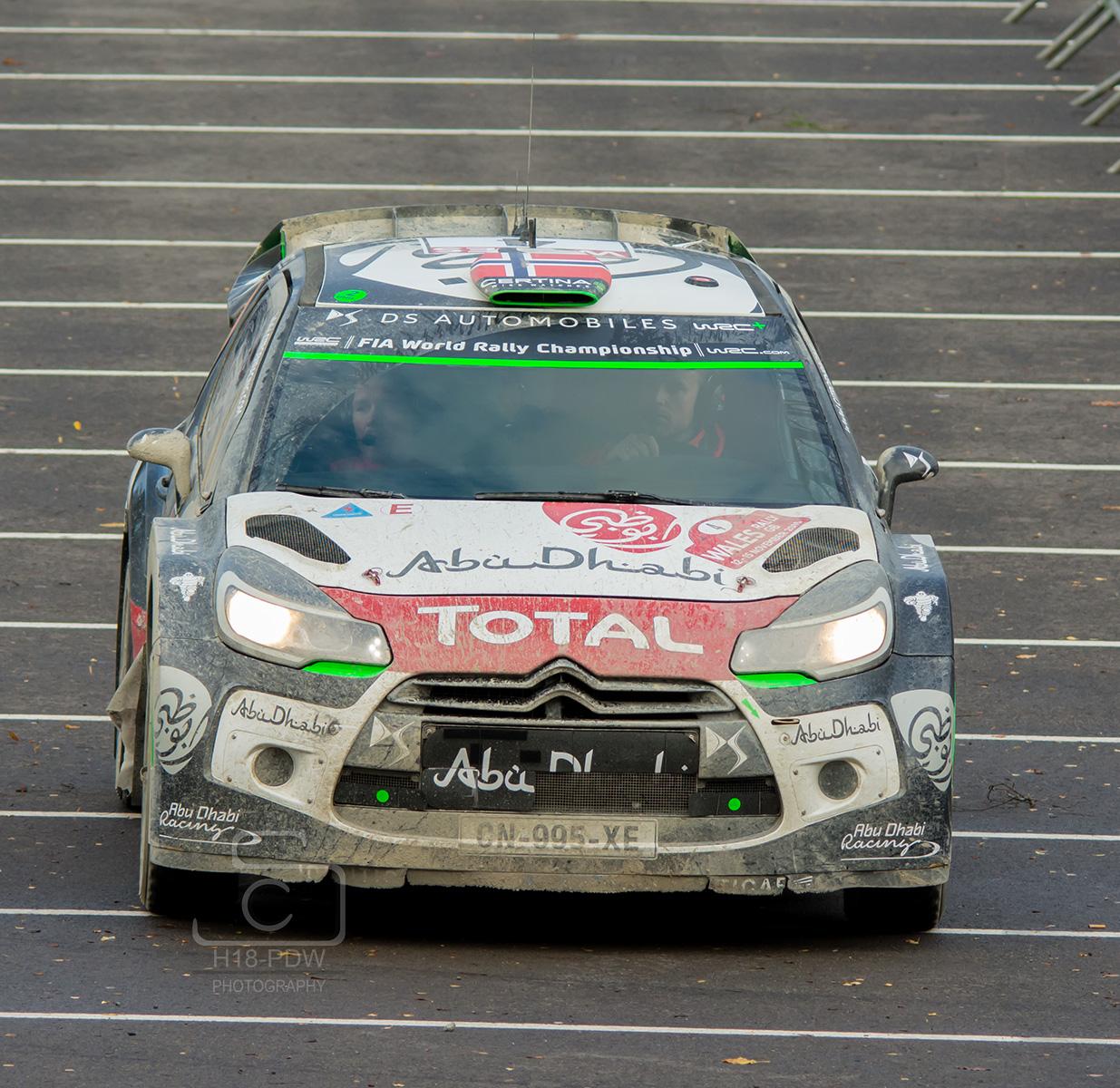 Kris Meeke WRC 2015