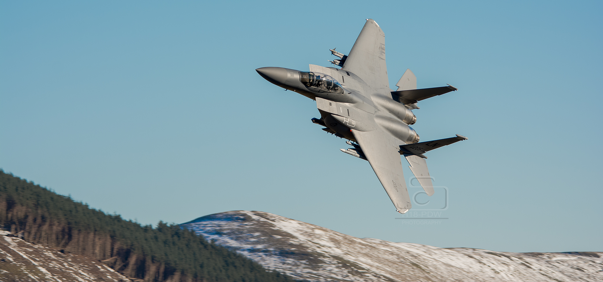 F15 In The Mach Loop