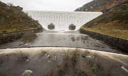 Elan Valley Dam And weir