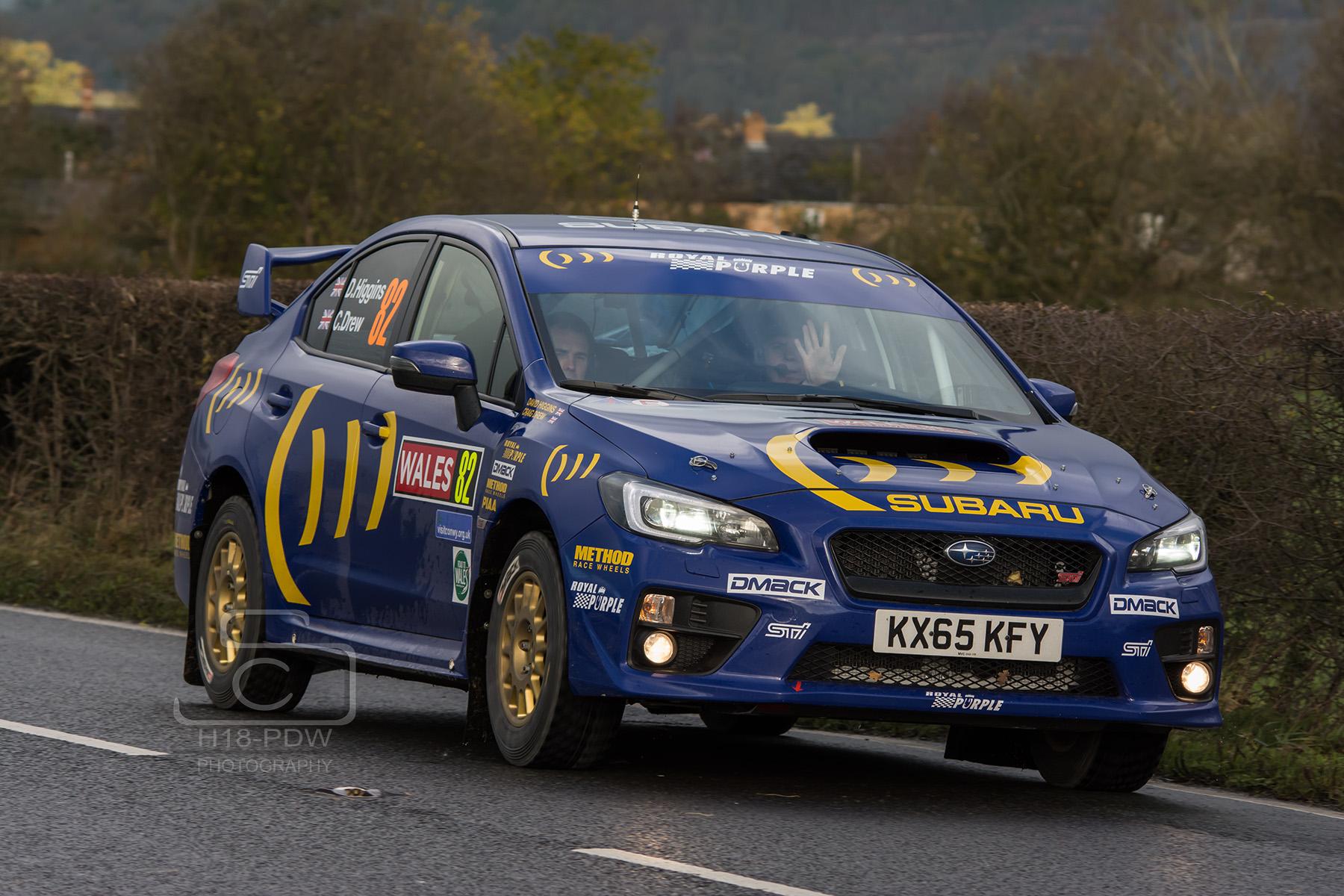 David Higgins WRC 2015