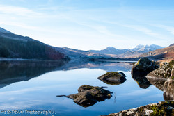 North Wales Lake Reflection