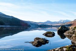 North Wales Lake Reflection