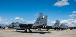 F15 Lakenheath Line Up.