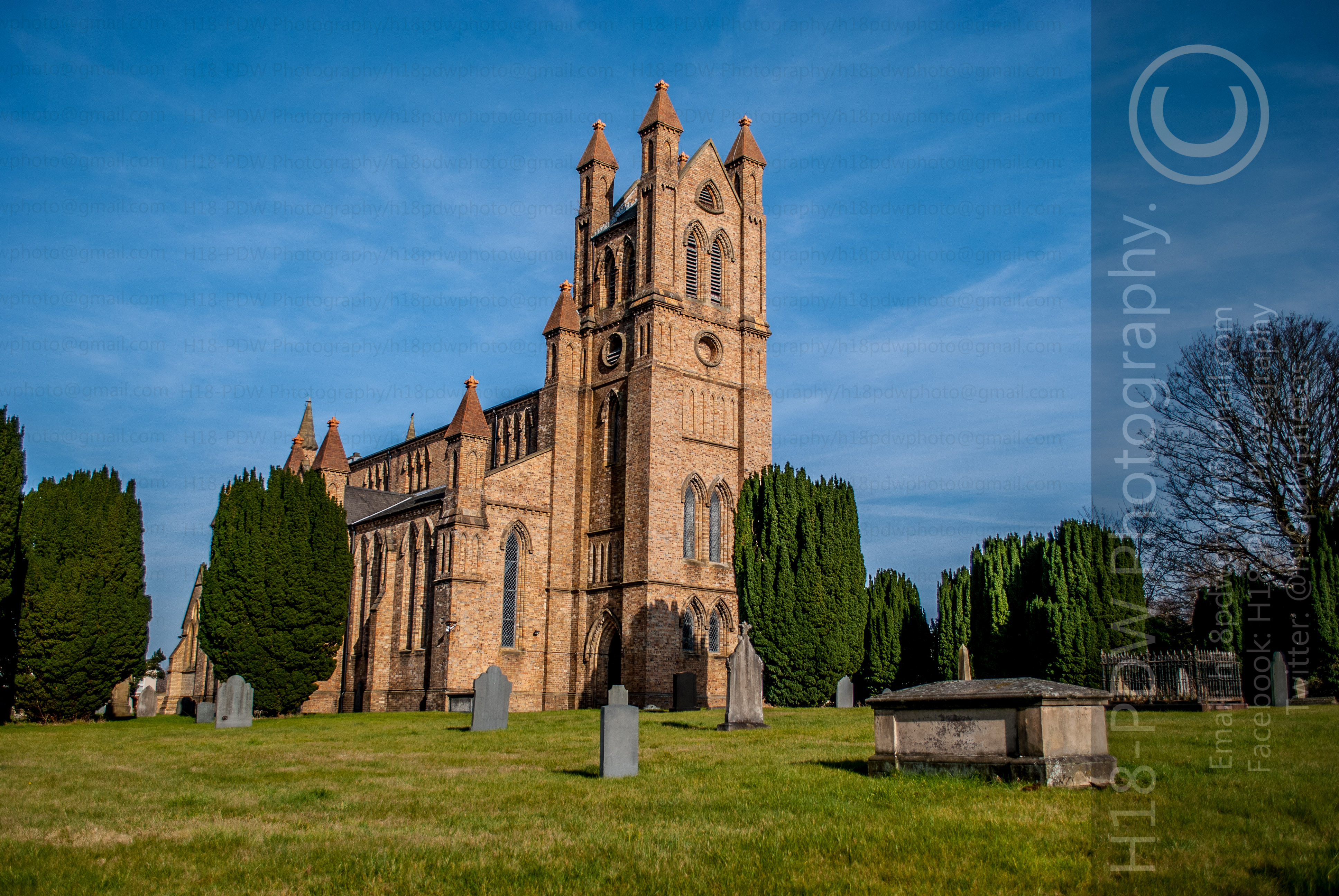 St Davids Church Newtown Powys