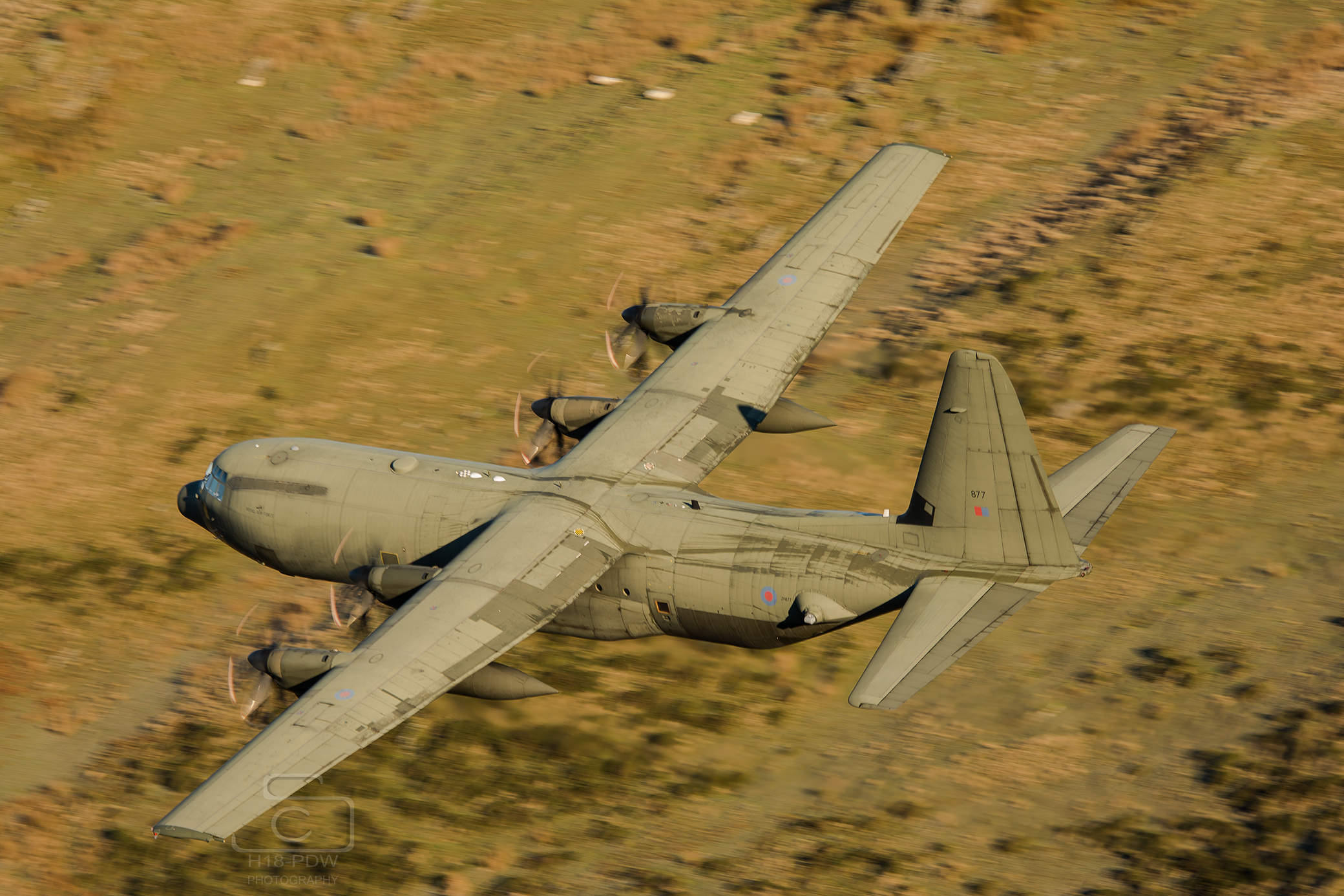 Hercules In The Mach Loop